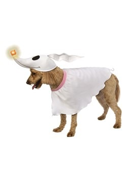 Nightmare Before Christmas Zero Dog Costume with Light