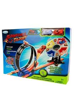 SpinForce Target w/ 2 Cars Playset