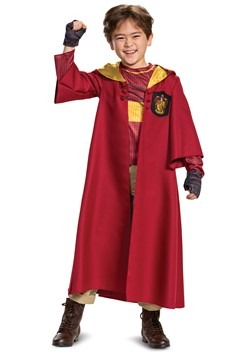Kid's Harry Potter Deluxe Quidditch Robe Costume