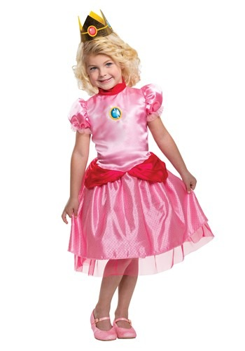 Toddler Super Mario Toddler Classic Princess Peach