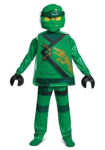 Child's Lego Ninjago Lloyd Legacy Deluxe Costume