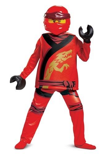 Child's Lego Ninjago Kai Legacy Deluxe Costume