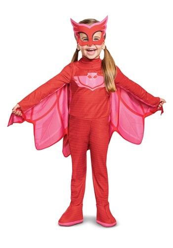 Toddler PJ Masks Owlette Deluxe Light Up Costume