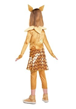 Girl's Pokemon Deluxe Eevee Costume Back