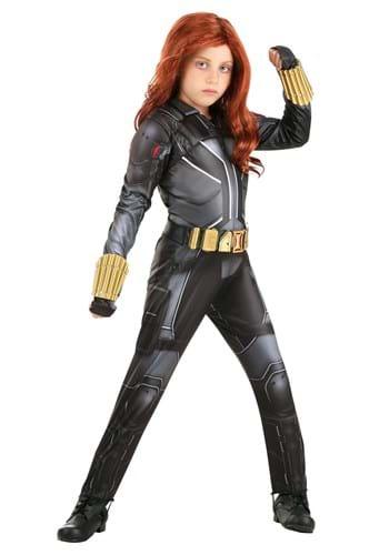 Black Widow Girl's Deluxe Costume Update