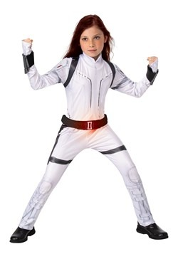 Black Widow Kids Deluxe White Suit