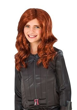 Black Widow Child Wig