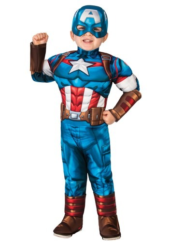 Toddler-Captain America Costume
