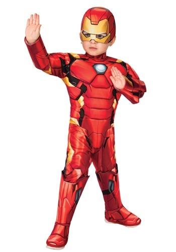 Toddler | Costume | Deluxe | Iron | Man | Men