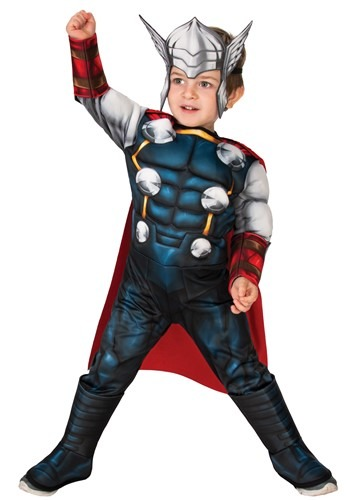 Classic Thor Deluxe Costume for Toddlers