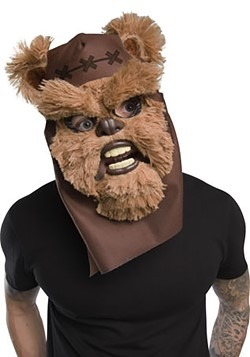 Ewok Mouth Mover Mask for Adults