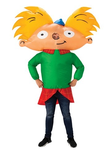 Inflatable Hey Arnold! Adult Costume