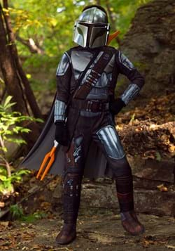 Mandalorian Beskar Armor Kids Costume Main UPD