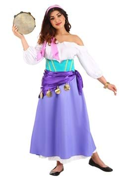 Women's Hunchback of Notre Dame Esmeralda Costume Update
