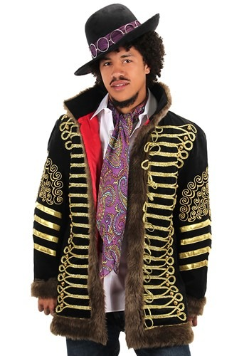 Jimi Hendrix Deluxe Jacket Costume for Men