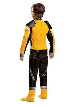 Child Power Rangers Beast Morphers Gold Ranger Costume Alt 1