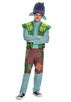 Trolls World Tour Mens Branch Costume