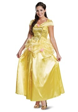 Beauty The Beast Adult Deluxe Classic Belle Costume