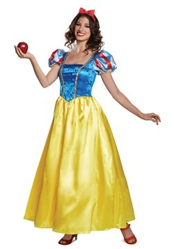 Women's Deluxe Snow White Costume