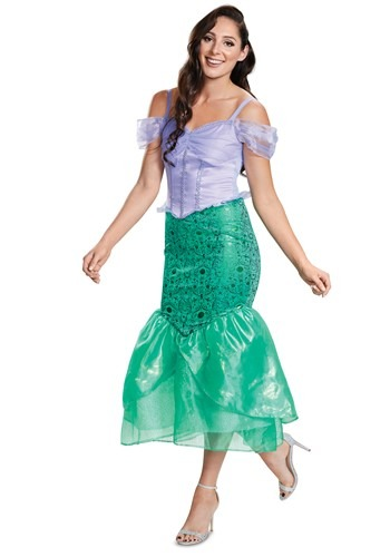Adult Deluxe Ariel Costume The Little Mermaid