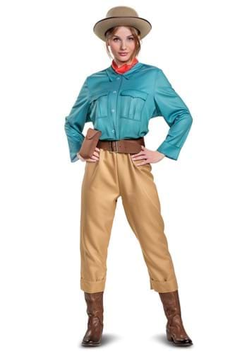 Jungle Cruise Womens Deluxe Lily Costume