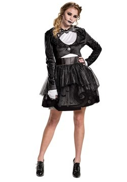Nightmare Before Christmas Women's Jack Skellington Costume
