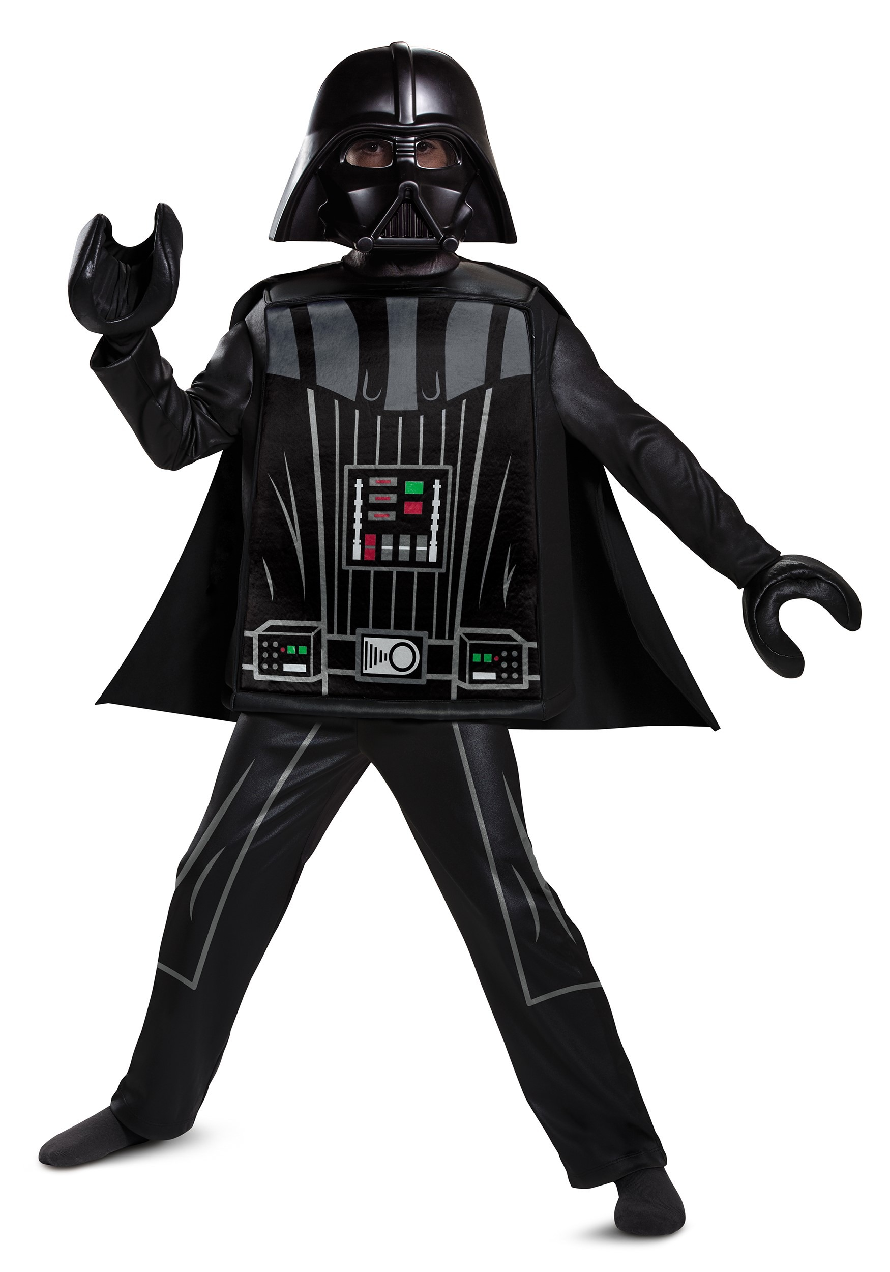 Lego Star Wars Deluxe Lego Darth Vader Costume for Boys