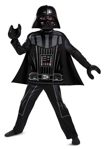 Lego Star Wars Boy's Deluxe Lego Darth Vader Costume