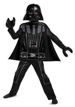 Lego Star Wars Boy's Deluxe Lego Darth Vader Costume
