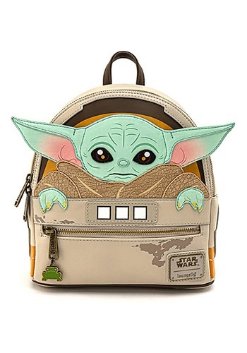 Mandalorian The Child Cradle Mini Backpack from Loungefly