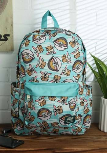 Loungefly Mandalrian The Child All-Over-Print Back