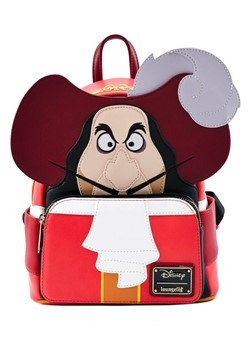 Loungefly Peter Pan Captain Hook Cosplay Mini Backpack