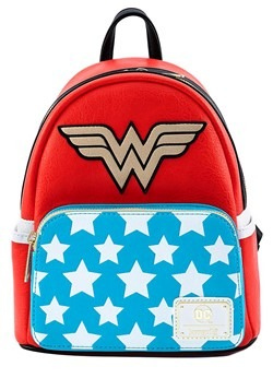 Loungefly Vintage Wonder Woman Cosplay Mini Backpack