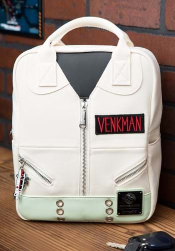 Loungefly Ghostbusters Cosplay Square Canvas Backpack