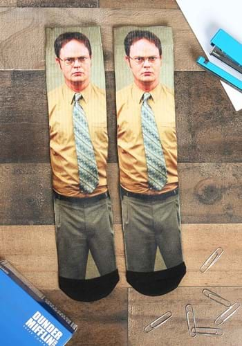 The Office Dwight Sublimated Crew Sock