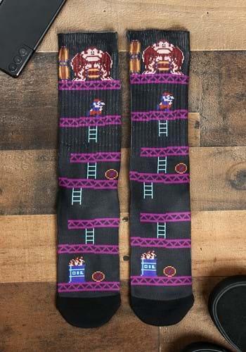 Donkey Kong Unisex Sublimated Socks