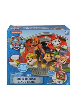 Paw Patrol Dog House Bingo Game