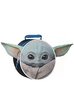 "Star Wars ""The Child"" Baby Yoda Circle Shaped Lunch Bag"
