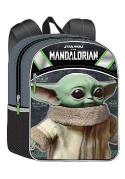 "Star Wars ""The Child"" Baby Yoda 11"" Half Moon Backpack Updat"