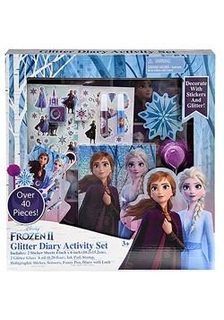 Frozen 2 Glitter Diary Set
