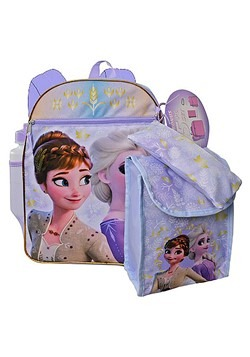 "Frozen 2 16"" Backpack 5pc Set"