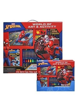 Spiderman Giant Art and Activity Tray