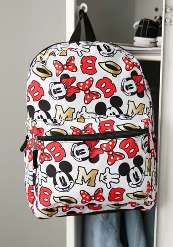Minnie All Over Print 16 Inch Backpack