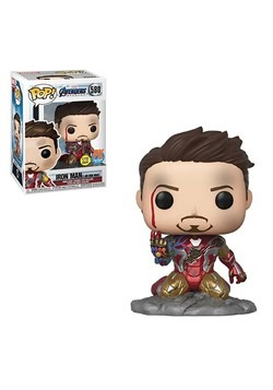 Pop Avengers I Am Iron Man Endgame PX Exclusive Figure