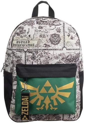 Zelda Map Mixblock Backpack