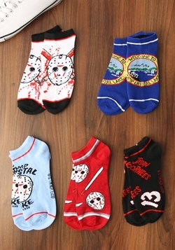Friday the 13th 5 Pair Ankle Socks UPD