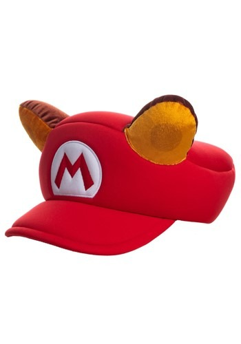 Super Mario Raccoon Cosplay Hat