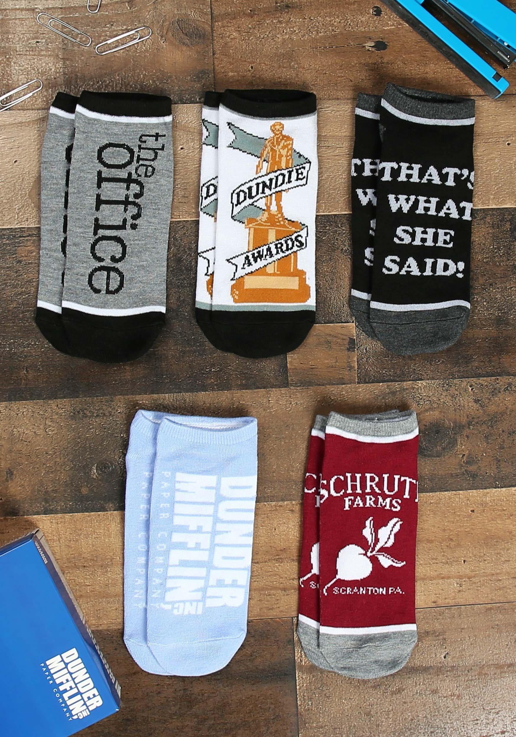 Jim Halpert Socks The Office Socks