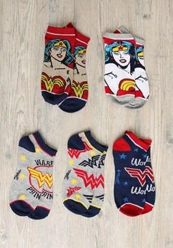 Wonder Woman 5 Pair Ankle Pack update