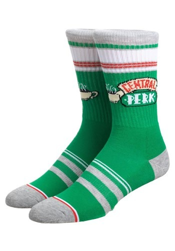 Friends Central Perk Athletic Crew Sock
